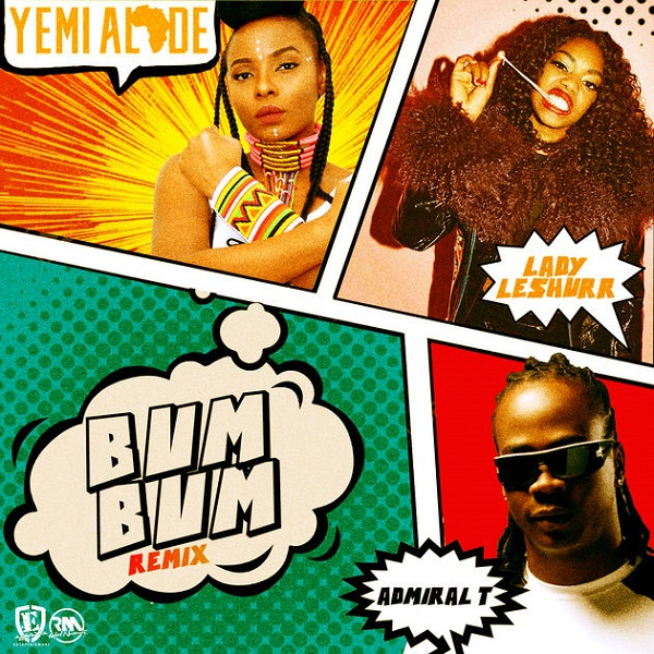 Yemi Alade Bum Bum (Remix) Artwork