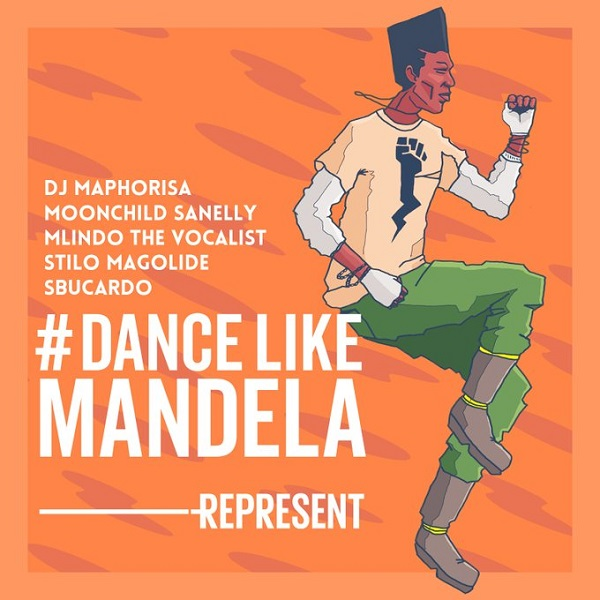 DJ Maphorisa Dance Like Mandela Artwork