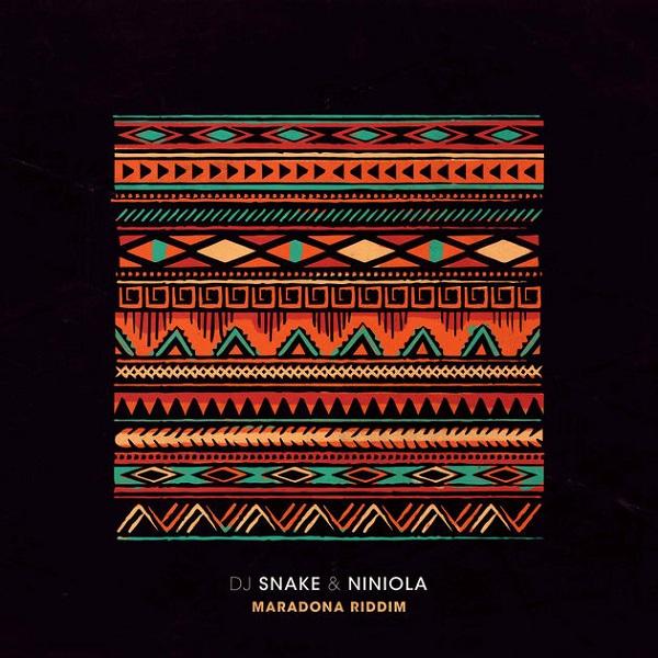 DJ Snake Maradona Riddim Artwork