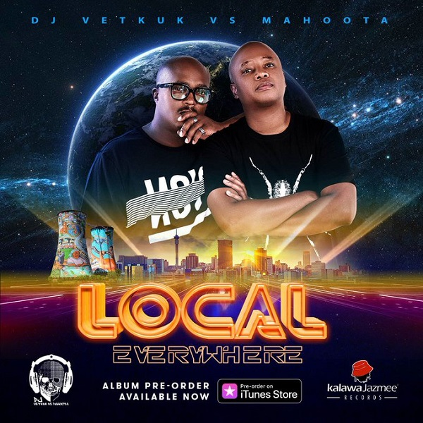 DJ Vetkuk vs Mahoota Local Everywhere Album Artwork
