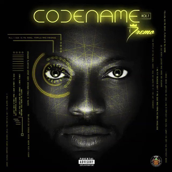Dremo Codename Vol I EP Artwork