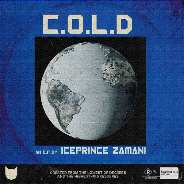 Ice Prince C.O.L.D EP Artwork