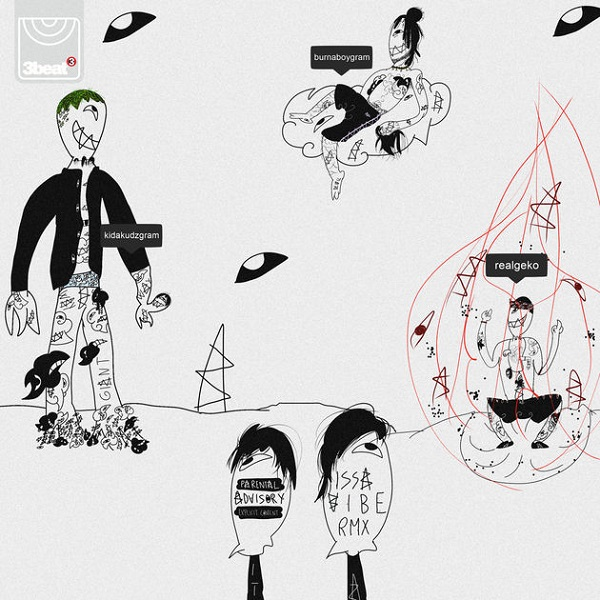 Kida Kudz Issa Vibe (Remix) Artwork