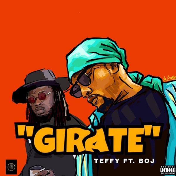 Teffy ft BOJ Girate Artwork