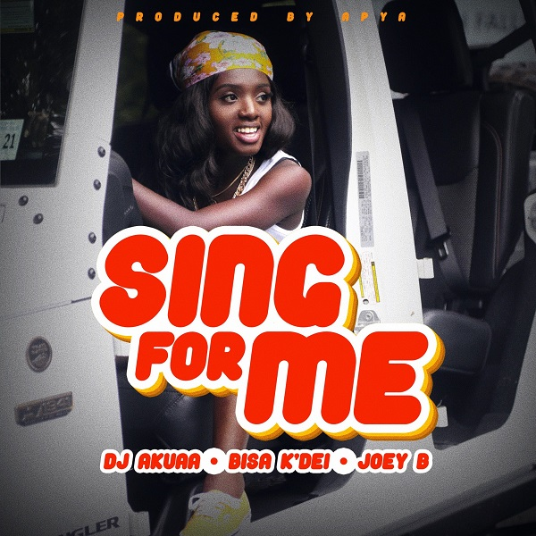 DJ Akuaa Sing For Me Artwork