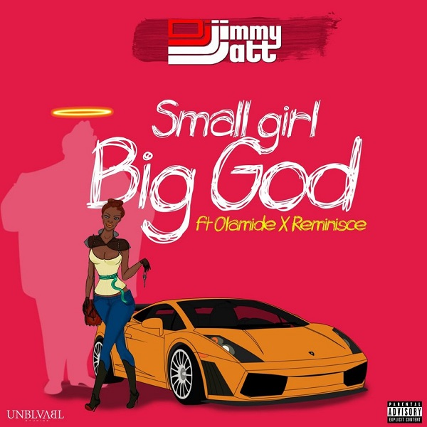 DJ Jimmy Jatt Small Girl Big God Artwork