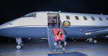 Davido Private Jet #AirOBO