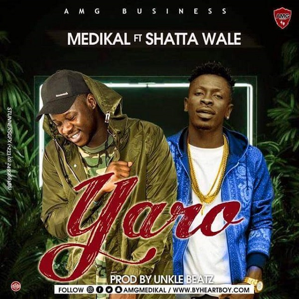 Medikal ft. Shatta Wale Yaro Artwork