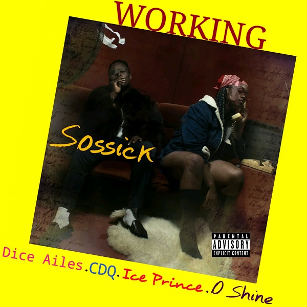 Sossick Working Artwork