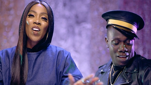 VIDEO: TIWA SAVAGE – LOVA LOVA FT. DUNCAN MIGHTY