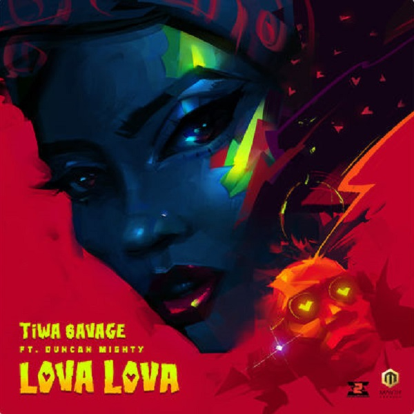 Tiwa Savage Lova Lova Artwork