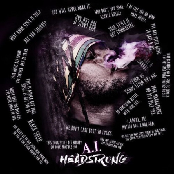 A.I. Headstrong EP Artwork