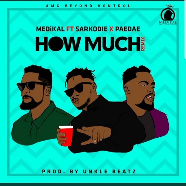 Medikal How Much (Remix) Artwork