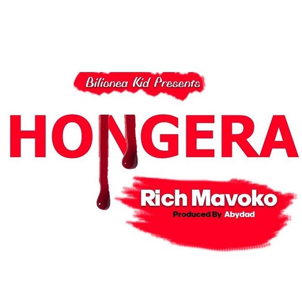 Rich Mavoko Hongera Artwork
