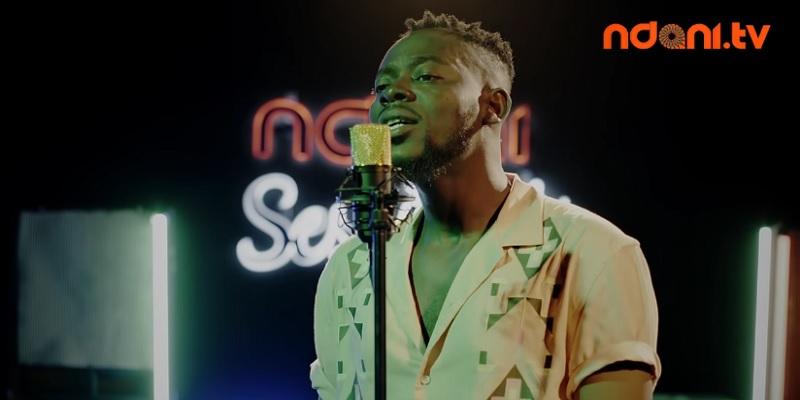Adekunle Gold Performs 'Damn Delilah'