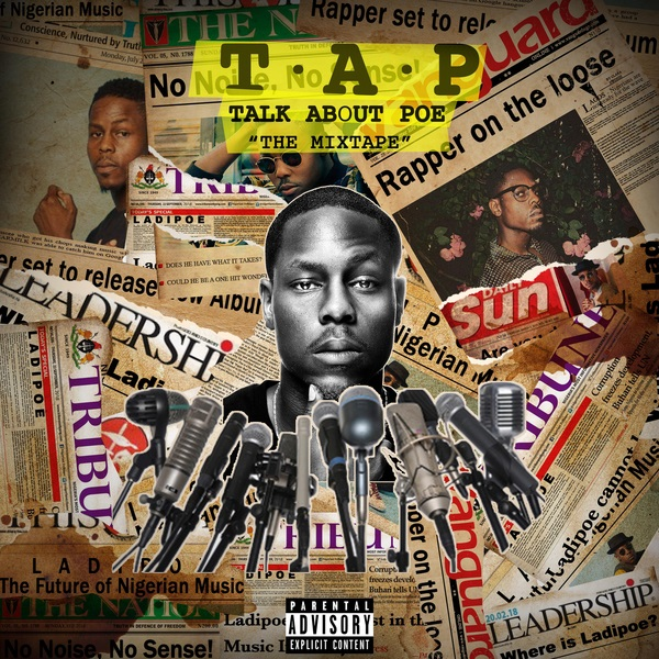 LadiPoe T.A.P (Talk About Poe) Artwork