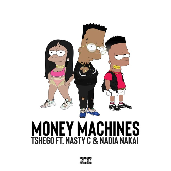 Tshego Money Machines Artwork