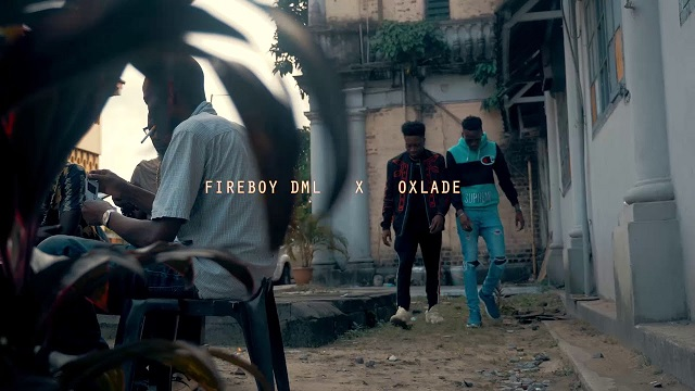 Fireboy DML & Oxlade Sing Video