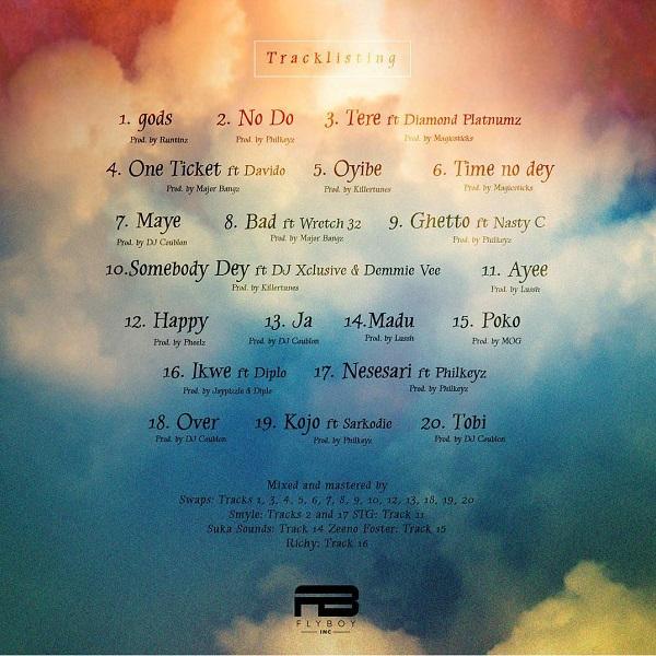 Kizz Daniel No Bad Songz Tracklist