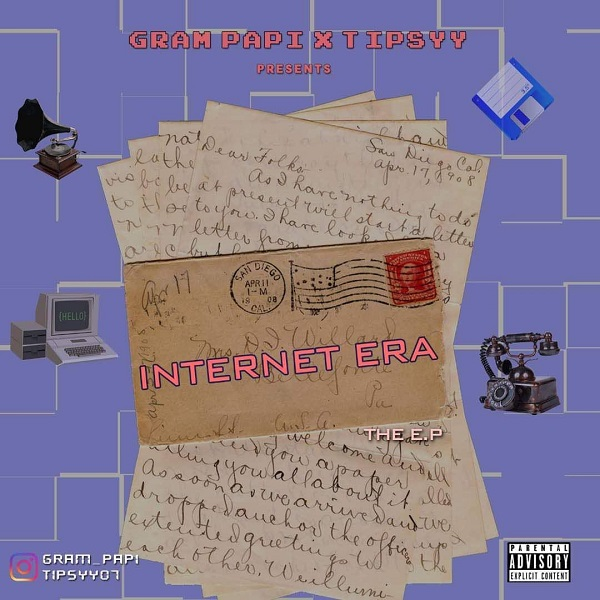 Gram Papi Internet Era EP Artwork