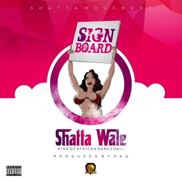 Shatta Wale Signboard