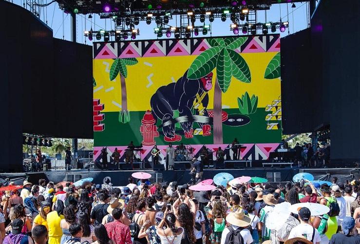 Burna Boy's Coachella finale performance 2