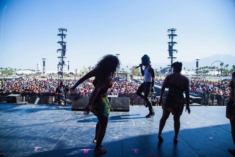 Burna Boy's Coachella finale performance 3
