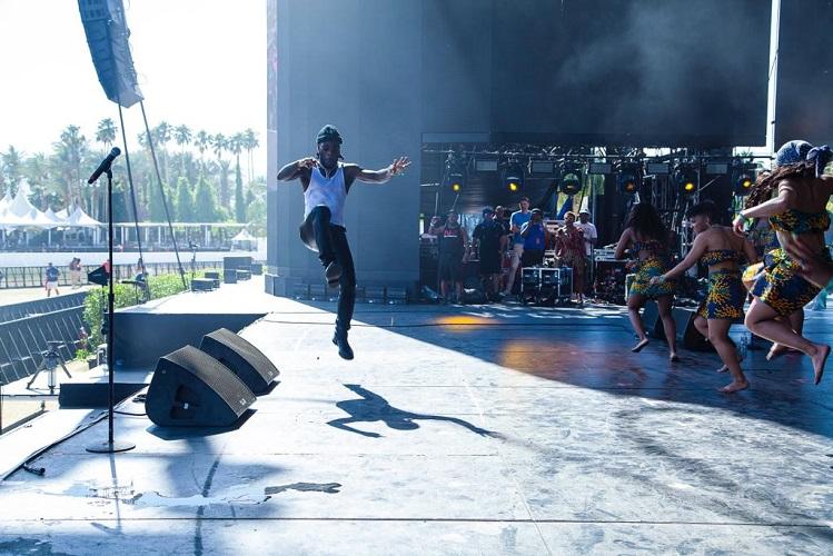 Burna Boy's Coachella finale performance 1