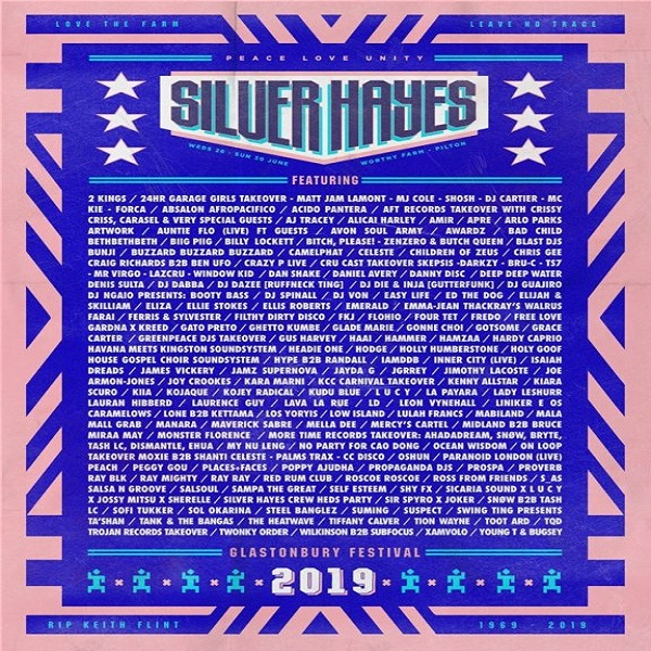 DJ Spinall Glastonbur Festival 2019