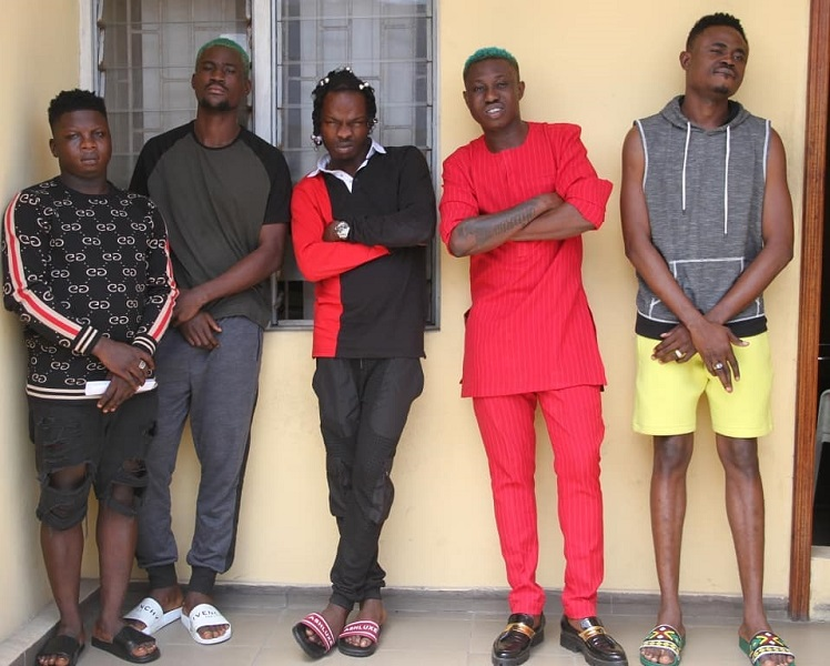 Zlatan, Naira Marley, 3 others