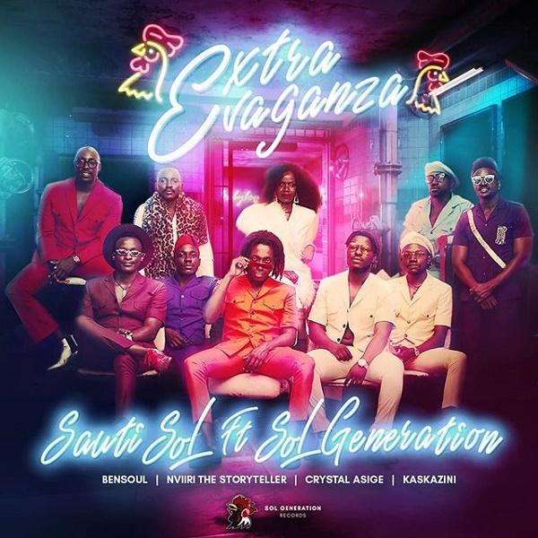 Sauti Sol – Extravaganza ft. Bensoul, Nviiri the