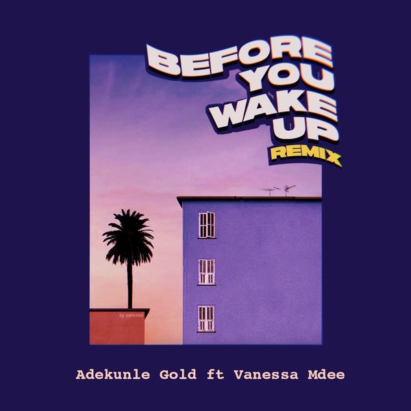 MUSIC : Adekunle Gold – Before You Wake Up (Remix) Ft. Vanessa Mdee