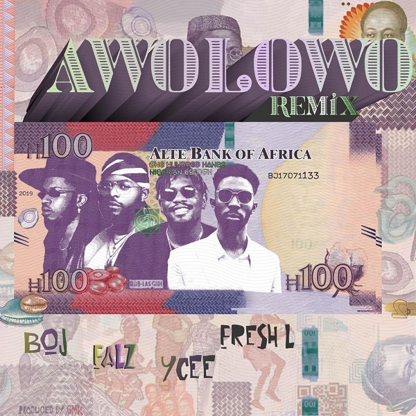 Download Mp3: BOJ Ft. Falz And Ycee & Fresh L – Awolowo (Remix)