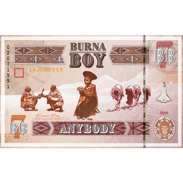 Burna Boy Anybody