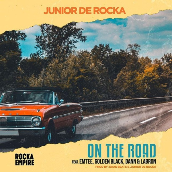 Download South African Music — Junior De Rocka – On The Road ft. Emtee & Golden Black, Dann x Labron