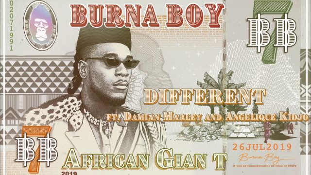 Burna Boy – Different ft  Damian Marley, Angelique Kidjo Mp3 Download
