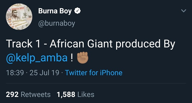 African Giant producer