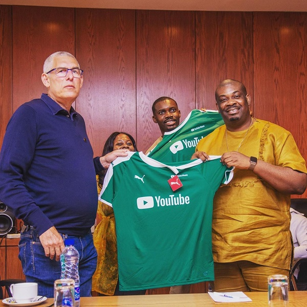 YouTube Officials Team Visits Don Jazzy, Nigerian Music Industry
