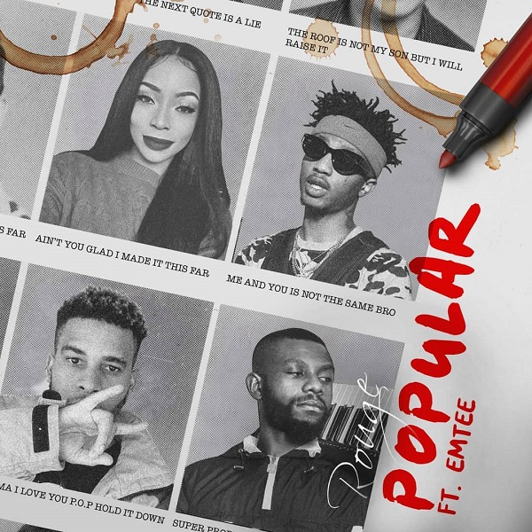 Download Music: Rouge – Popular Ft. Emtee