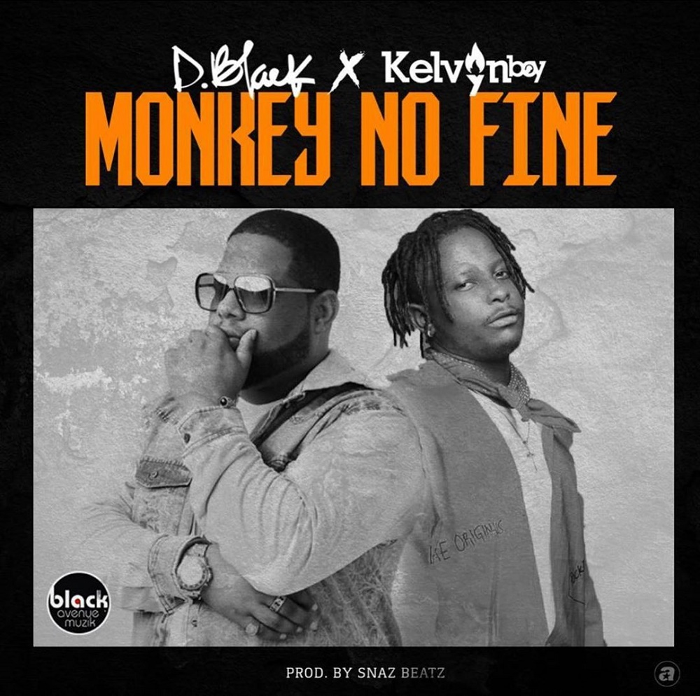 D-Black Monkey No Fine