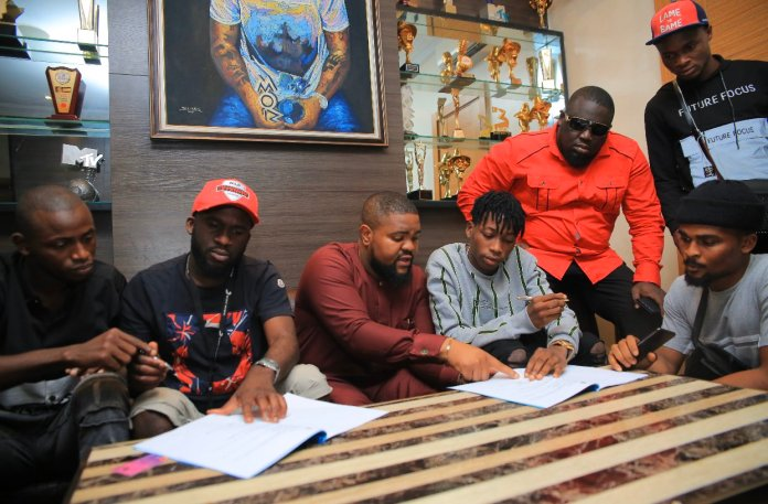 Davido signs Lil Frosh to DMW Records label