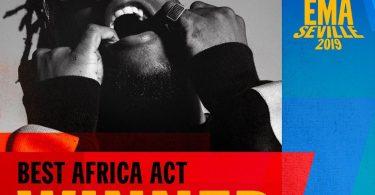 Burna Boy Wins Best African Act Award