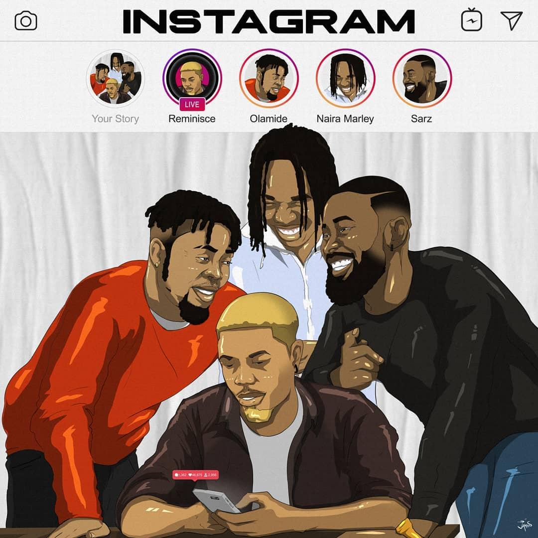 Reminisce Instagram Artwork