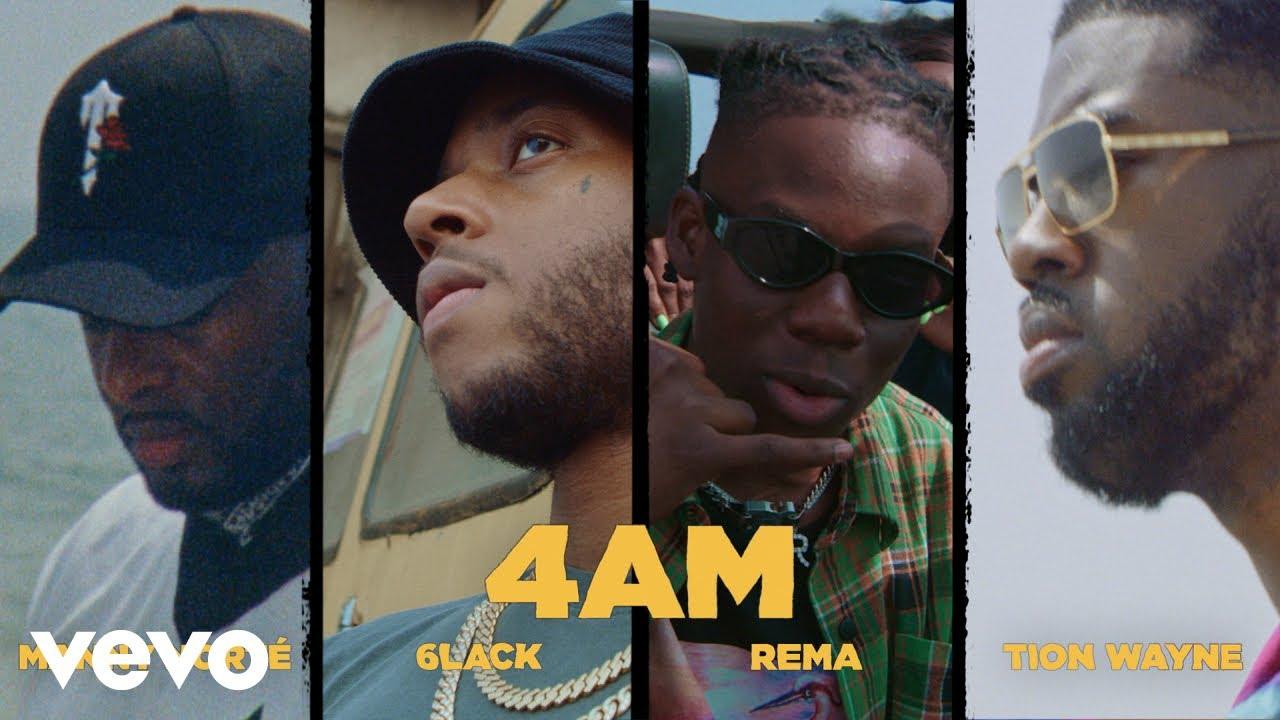 VIDEO: Manny Norte – 4AM ft. Rema, 6lack, Tion Wayne, Love Renaissance