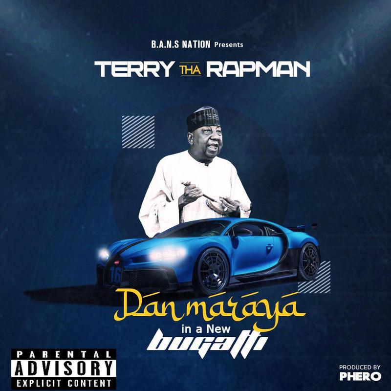 Terry Tha Rapman Dan Maraya In A New Bugatti
