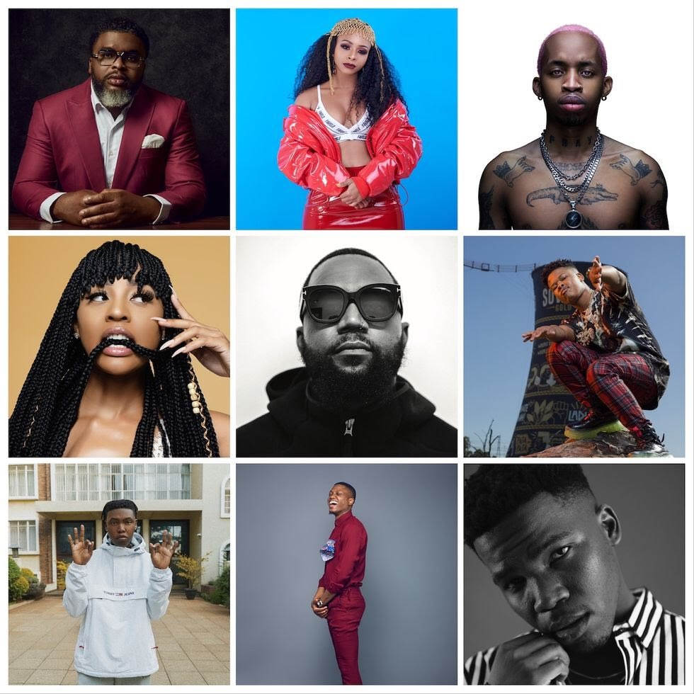 UMG announces launch of Def Jam Africa with artists; Vector, Larry Gaaga, Cassper Nyovest, more