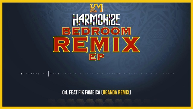 Harmonize Bedroom Remix EP