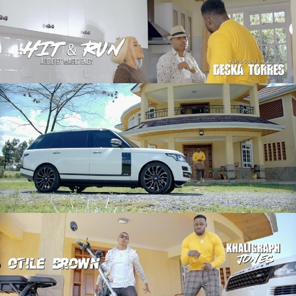 Otile Brown Hit and Run Video
