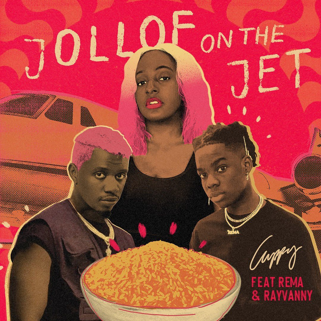 Cuppy Jollof On The Jet