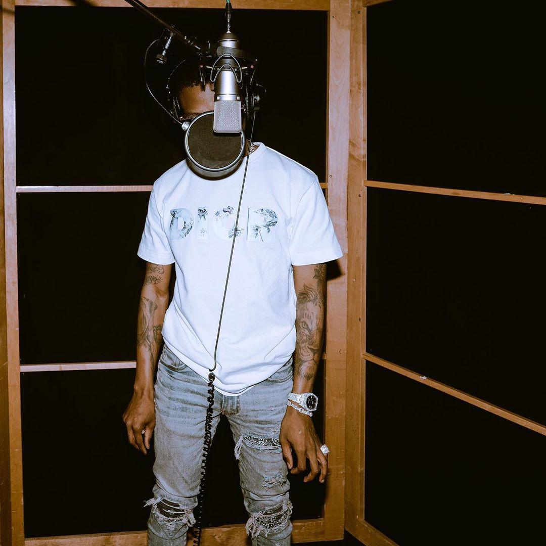 Wizkid Recording
